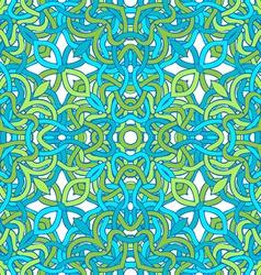Symmetric seamless pattern vector image vector image