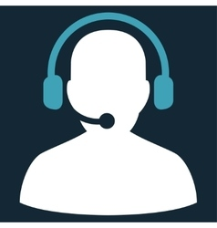 Telemarketing Icon from Commerce Set vector image