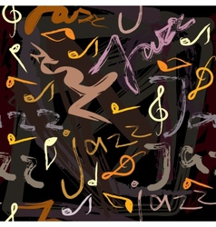Jazz pattern vector