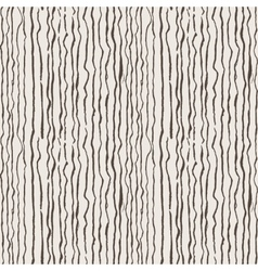 Seamless pattern of lines drawn by brush and ink vector