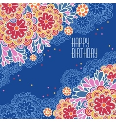 Postcards birthday vector