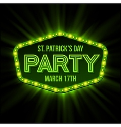 St patrick day poster vector