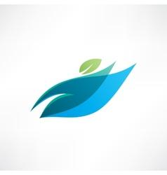 Eco life vector image vector image