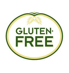 Gluten-free logo vector