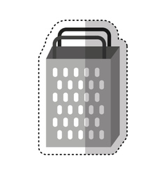 Kitchen Grater Isolated Icon Vector ...