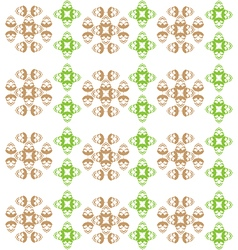 Light brown and green hop flowers digital vector