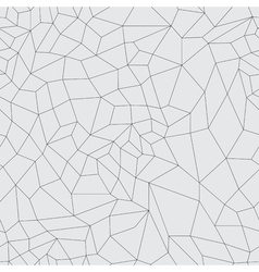 Mosaic black grid on a gray background vector