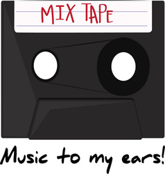 Music To My Ears vector image vector image