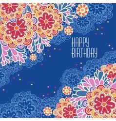 Postcards Birthday vector image vector image