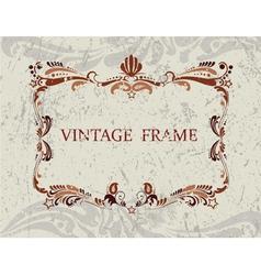 Vintage Frame3 vector image vector image