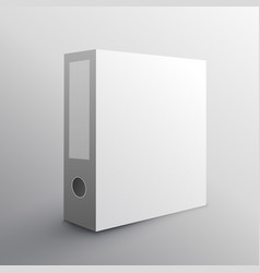 Folder mockup design for keeping your documents vector