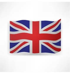 flag london background vector image