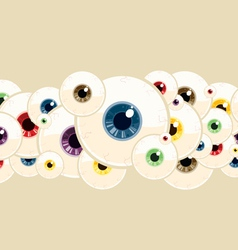 Eyeball pattern vector