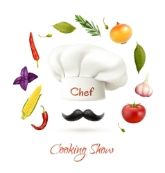 Cooking Show Concept vector image