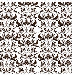 elegant decoration ornate swash design wallpaper vector image