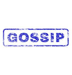 Gossip rubber stamp vector