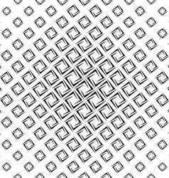 Monochrome seamless cornered polygon pattern vector