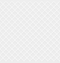 Rhombus white seamless pattern vector