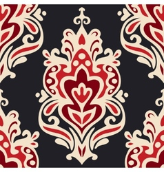 Luxury damask seamles vector