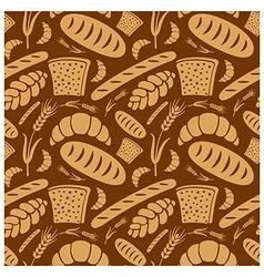 bread pattern2 vector image vector image