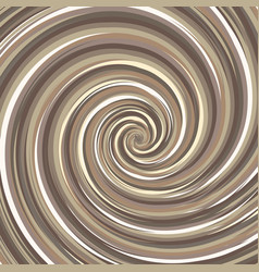 Swirling backdrop spiral surface nut color with vector