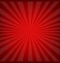 Sunburst red retro poster vector