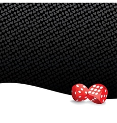 Stylized gambling background vector