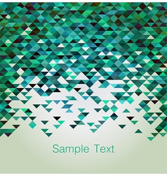 Triangular background vector