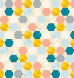 Retro cells pattern background vector