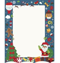 Christmas holiday poster vector