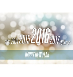 Abstract New Year 2016 vector image