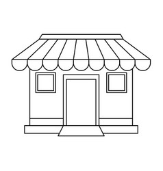 store or shop icon image vector image vector image