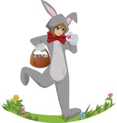 Easterbunny vector image