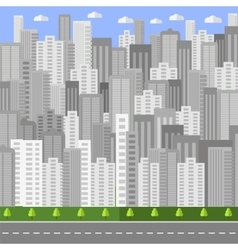 City background urban landscape vector