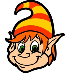 Face Gnome vector image vector image