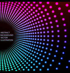 Illumination abstract background vector