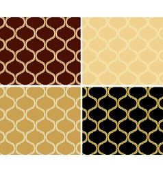 light and dark patterns - geometric textures vector image vector image