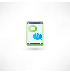 Message support on phone vector