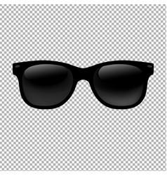 Sunglasses in transparent background vector