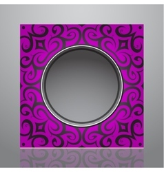 Decorative frame design vector