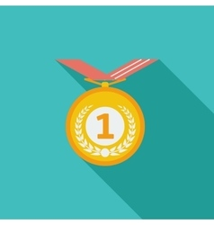 Icon medal vector