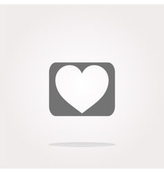 Heart Icon Heart Icon JPEG Heart Icon vector image