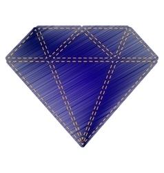 Diamond sign vector