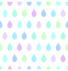 Cool rain white background vector
