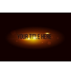 background movie trailer vector image vector image