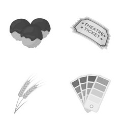 Cafe trade industry and other web icon in vector