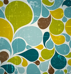 Colorful abstract retro pattern vector image vector image