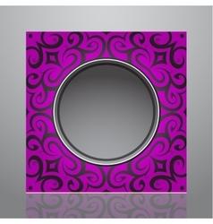 Decorative frame design vector