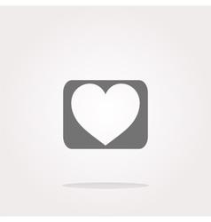 Heart Icon Heart Icon JPEG Heart Icon vector image