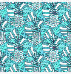 Ornamental seamless pattern textile texture vector
